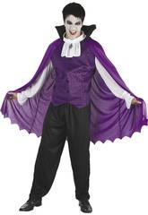 Déguisement vampire mouve homme taille XL