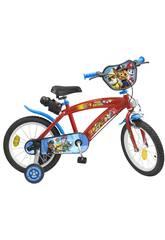 Bicicleta Paw Patrol 16