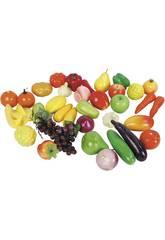 Frutas e Verduras 40 peças