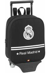 Zainetto asilo con trolley Real Madrid Black