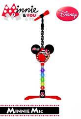 Minnie And You Microfono Piede con Amplificatore Reig 5253