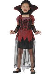 Disfraz Vampiresa Gotica Niña Talla XL