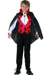 Disfraz Niños M Vampiro Rojo