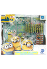 Casier 3 Modules Glitter Minions