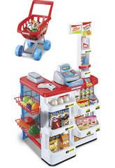 Supermarché avec Caddie de Course et Accessoires