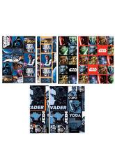 Papel de regalo Star Wars 200 x 70 cm.