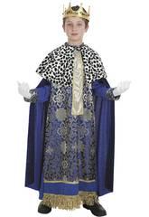 Kostüm König Melchor Kind Größe M Llopis 3579-2