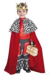 Disfraz Rey Gaspar Niño Talla L