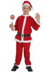 Costume Babbo Natale Bimbo M