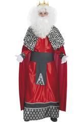 Costume Adulto Re Gasparre Uomo Taglia XL