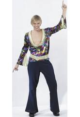 Disfraz Disco Hombre Divertido Talla XL