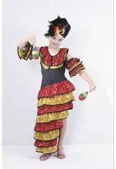 Kostüm Rumbera Mädchen Größe M