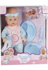 Sortierte Puppe Baby Baldy mit Töpfchen und Zubehör 30x14cm