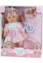 Poupée à choisir Bébé Fille avec pot et accessoires 30 x 14 cm