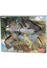 Animaux Wild Life de 6 pièces
