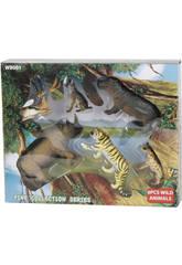 Animalese Wild Life 6 piezas