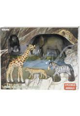 Animalese Salvajes 5 piezas