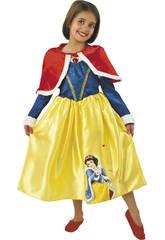 Disfraz niña Blancanieves Winter T-L Rubies 887091-L