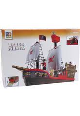 Bateau Pirate avec figurines.