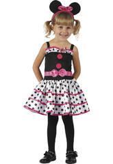 Costume Topolina Bebè M