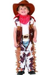 Maschera Cow Boy Bebè Taglia M