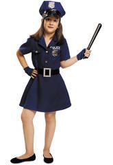 Disfraz Niña L Policía