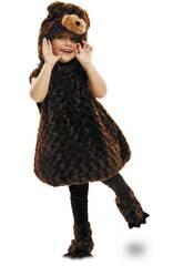Costume Bebè L Orso Peluche