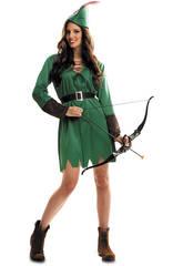 Disfraz Mujer S Robin Hood con Sombrero