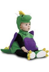 Disfraz Bebé M Dinosaurio Verde