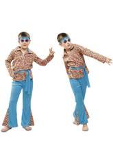 Disfraz Niño XL Hippie Psicodélico
