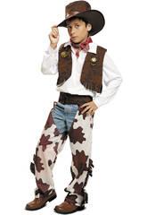 Déguisement Garçon M Cow Boy Marron et blanc