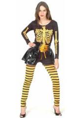 Déguisement Squelette Femme Taille XL