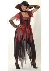 Disfraz Vampira Gotica Mujer Talla XL