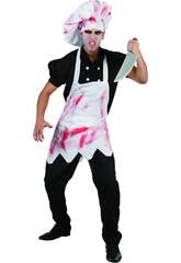 Déguisement cuisinier Mauvais sanglant homme L