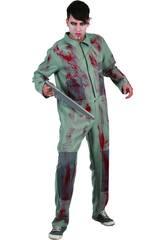 Disfraz Asesino Psicopata hombre Talla XL
