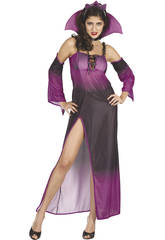 Costume Regina del male Viola Donna XL