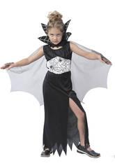 Déguisement Araignée Noire Fille Taille XL