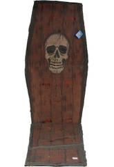 Cercueil crâne avec son 153X54 cm