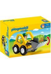Playmobil 123 Chargeur et Ouvrier 6775