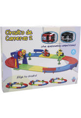 Circuit De Courses Avec 2 Motos