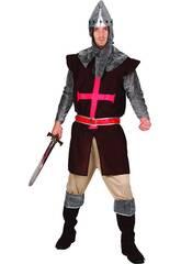 Disfraz Caballero cruzado Hombre Talla XL