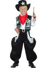 Maschera Cowboy Rodeo Bambino Taglia L