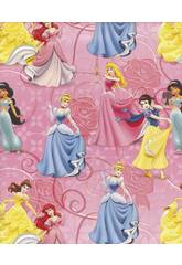 Geschenkpapier Prinzessinnen 200 x 70 cm.