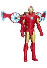 Avengers Titan Held mit Fahrzeug