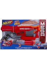 Nerf Mega Cycloneshock 6 Darts 8,9x25,4x40,6 cm HASBRO A9353