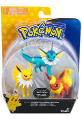 Pokemon Figurine pack de 3