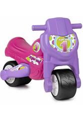 Carrinho de Empurrar Motofeber 1 Sprint Girl Famosa 800009166
