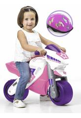 Correpasillos Mfeber Girl 2 Racing con Casco