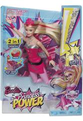 Barbie Superprincesa 2 em 1 Mattel CDY61