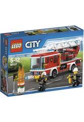 Lego Camion Bomberos con Escalera